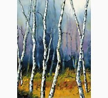 Winter Reverie by Lisa Elley. Palette knife painting in oil  Unisex T-Shirt