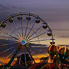 An Evening at the Fair by Barbara  Brown