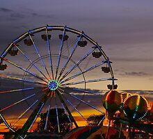 An Evening at the Fair by Barbara  Brown