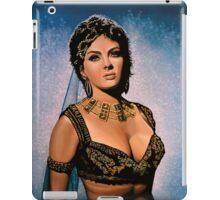 Gina Lollobrigida Painting iPad Case/Skin