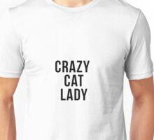 Crazy Cat Lady Unisex T-Shirt
