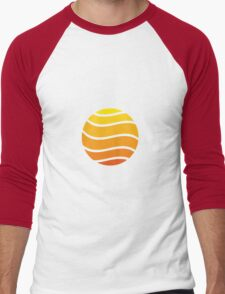 Sonnenuntergang Men's Baseball ¾ T-Shirt