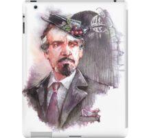 Watercolor Delgado!Master transparent version iPad Case/Skin