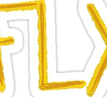 Fly Topaz Sticker
