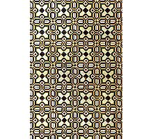 Iberian Moorish Style Check Pattern Photographic Print