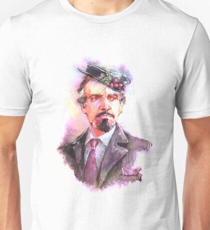 Watercolor Delgado!Master 2 transparent version Unisex T-Shirt