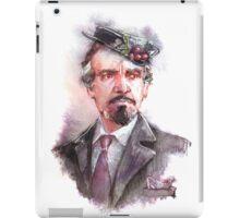 Watercolor Delgado!Master 2 transparent version iPad Case/Skin