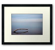 Lake Erie Tranquility Framed Print