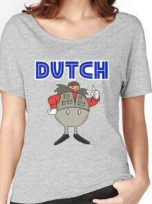 Zeb Coulter/Dutch Mantel Dr Eggman (sonic the hedgehog/wrestling)) Women's Relaxed Fit T-Shirt