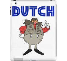 Zeb Coulter/Dutch Mantel Dr Eggman (sonic the hedgehog/wrestling)) iPad Case/Skin