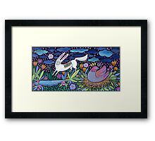 Frolic in the Forest Framed Print