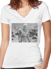 Zulu Women's Fitted V-Neck T-Shirt