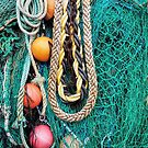 Fishing Gear At The Cobb 3 - Lyme Regis by Susie Peek