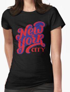New York City USA T-Shirt Womens Fitted T-Shirt