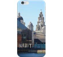 Liverpool Albert Dock CityScape iPhone Case/Skin