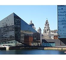 Liverpool Albert Dock CityScape Photographic Print