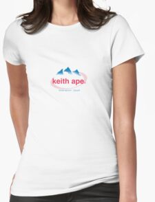 Keith ape - EVIAN Womens Fitted T-Shirt