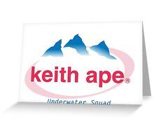 Keith ape - EVIAN Greeting Card
