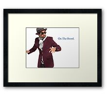 """Rent A Swag - """"On The Prowl"""" Framed Print"""