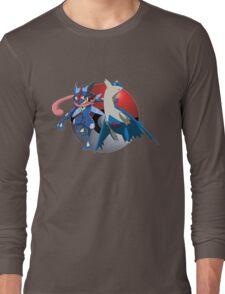 Ash-Greninja & Latios Long Sleeve T-Shirt