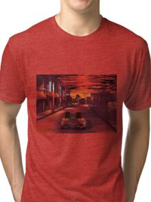 Back To The Future 1 Tri-blend T-Shirt