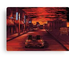 Back To The Future 1 Canvas Print