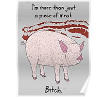 Angry Pig Poster
