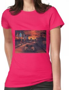 Back To The Future Version 2 Womens Fitted T-Shirt