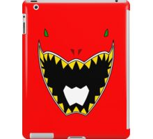 Dino Charge Red Power Ranger / Kyoryu Red iPad Case/Skin