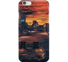 Back To The Future Version 2 iPhone Case/Skin