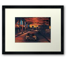 Back To The Future Version 2 Framed Print