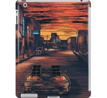Back To The Future Version 2 iPad Case/Skin