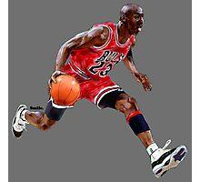 Michael Jordan - Smile Design 2016 Photographic Print