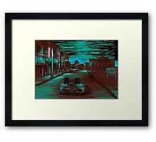 Back To The Future Version 3 Framed Print