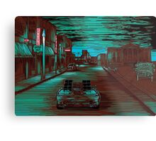 Back To The Future Version 3 Metal Print