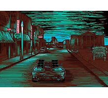 Back To The Future Version 3 Photographic Print