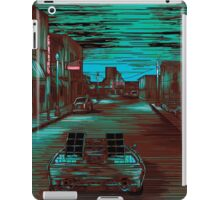 Back To The Future Version 3 iPad Case/Skin