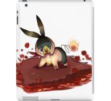 Flames of Furry iPad Case/Skin