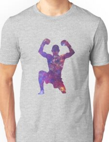 Muay Thai Fighter Colorful Unisex T-Shirt