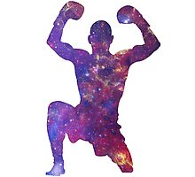 Muay Thai Fighter Colorful Photographic Print