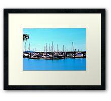 Abel Point Marina Framed Print