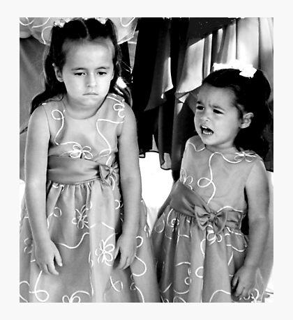 """UnHappy - Flower Girls"" Photographic Print"