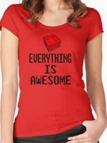 Lego - Everything Is Awesome Women's Fitted Scoop T-Shirt