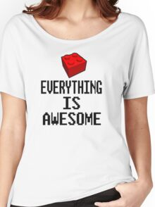 Lego - Everything Is Awesome Women's Relaxed Fit T-Shirt