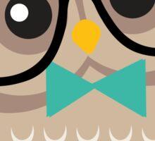 Cute Hipster Owl Sticker