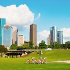 Houston Skyline by Eric Tsai