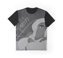 Aladdin - Prince Ali Signature Still (B&W) Graphic T-Shirt