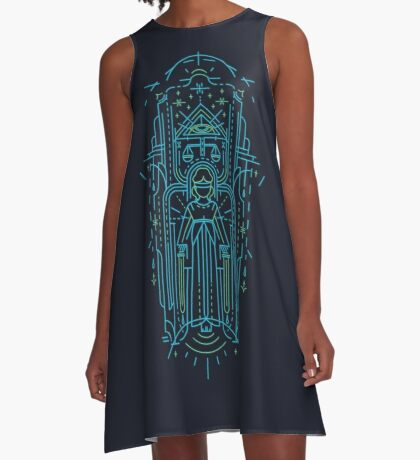 Justitia (Lady Justice) A-Line Dress