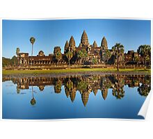 Angkor Wat Temple, Siem Reap, Cambodia Poster
