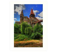 Vajdahunyadi vár IV (castle) Art Print